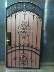 Заборы,  ворота, козырьки,  ограды